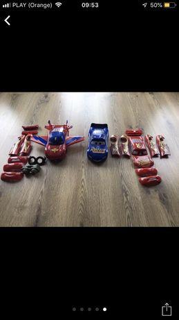 Cars 2 cars 3 auta zyg zag jak nowe do składania hit!
