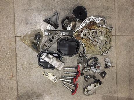 Мотор, головки, блок, проводка, колектор, 2.8 FSI CHVA Audi A6, A7