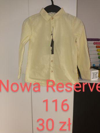 Koszula kremowa Reserved