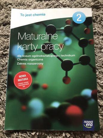 Maturalne karty pracy do podręcznika ,,To jest chemia 2'' nowej ery