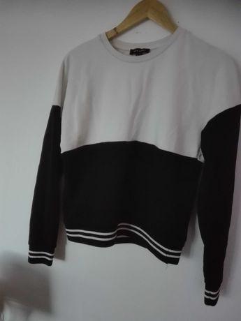 Bluza czarno - biała New Look