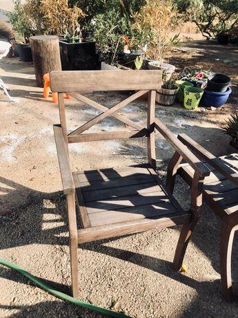 Cadeira de Jardim em Madeira Teca