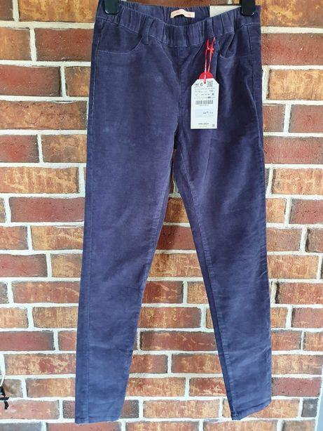 Dziecięce nowe spodnie sztruksowe ZARA