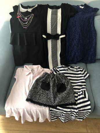 Sukienki Wójcik,HM,Kappahl,CC,spódnica Zara+rajstopy