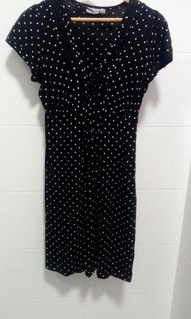 Sukienka w kropki groszki M
