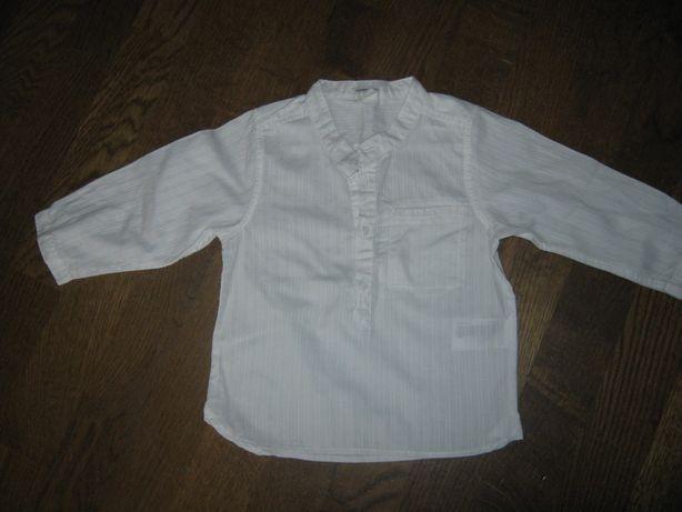 Хлопковая блуза (рубашка) на девочку 9мес-1 год