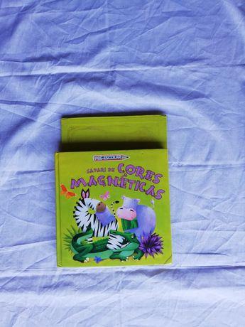 Livro magnético criança