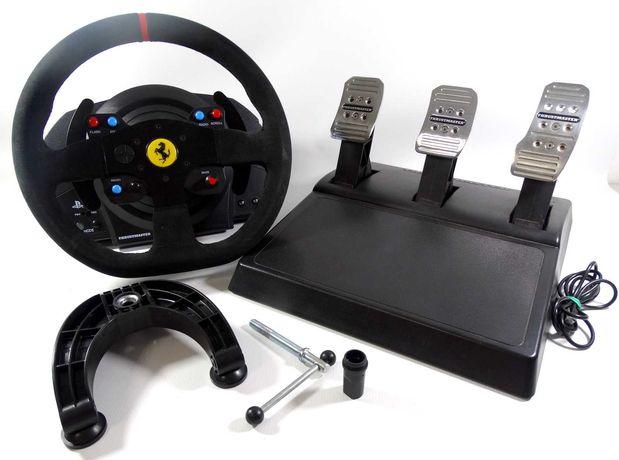 Kierownica FERRARI T300 ALCANTARA PS3 PS4 gwarancja !!!