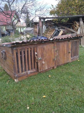 klatka dla królików duża drewniana