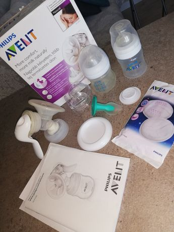 Молокоотсос AVENT Philips ручной, бутылки AVENT, ложка для кормления