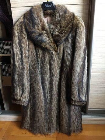 Naturalne bardzo ciepłe futro z szopa szop Renoma 40/42