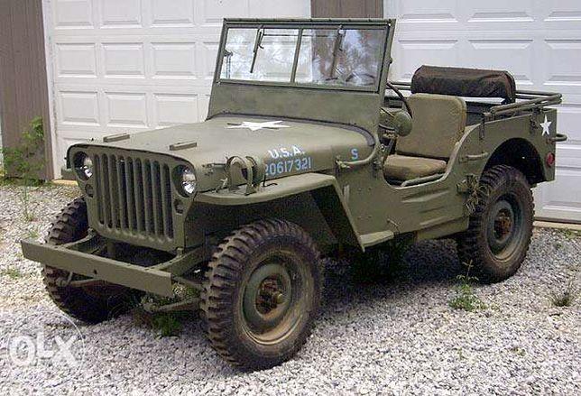 Peças originais para Jeep Willys e Ford GPW