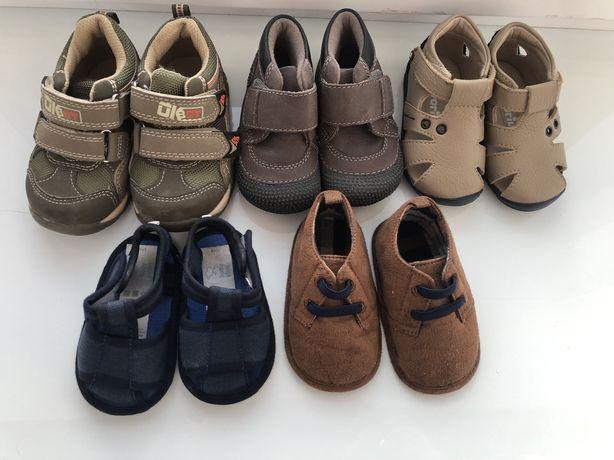 Босоножки туфли пинетки кожаные босоніжки для мальчика