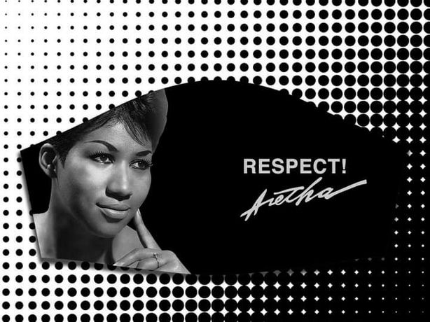 Máscaras personalizadas Aretha Franklin / Whitney Houston