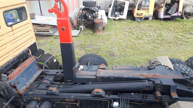 Urządzenie zabudowa hakowa kontenery Kiper ciągnik rolniczy hakowiec