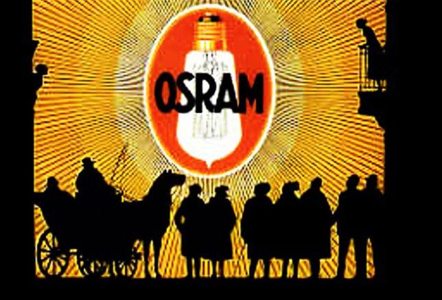 Poster /Cartaz Vintage em tela da OSRAM, sem moldura, 70 cm x 50 cm