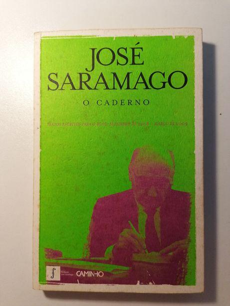 """Livro """"O Caderno"""" de José Saramago"""