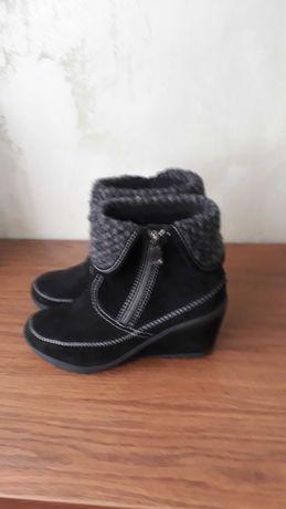 Damskie buty, botki' koturna 36