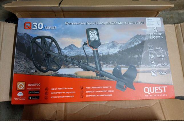 Продам металошукач Quest Q30