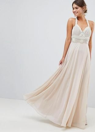 Вечернее , выпускное , свадебное платье ASOS р. XS-S