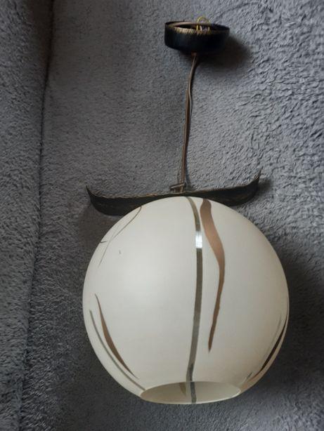 Lampa wisząca - kula