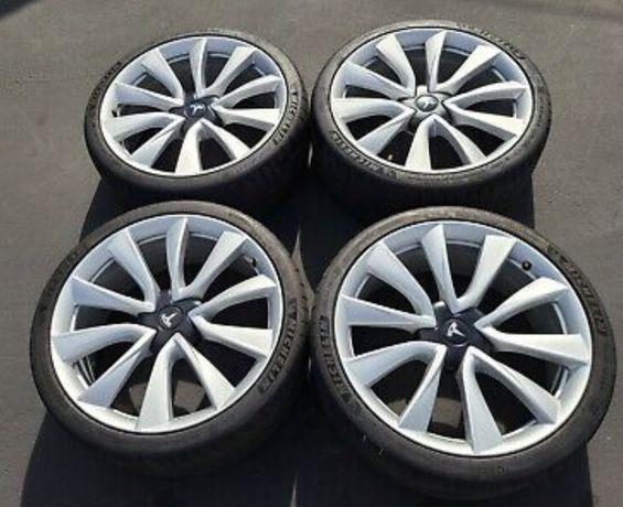 Разборка, Диски, Колеса R20 Tesla Performance Model 3, Michelin 235 35