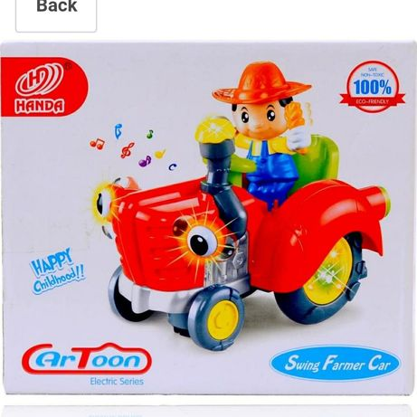 swing farmer car трактор музичний
