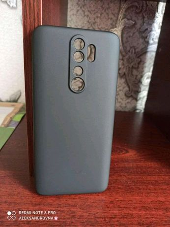 Silicon case з мікрофіброю на Xiaomi Redmi Note 8 Pro