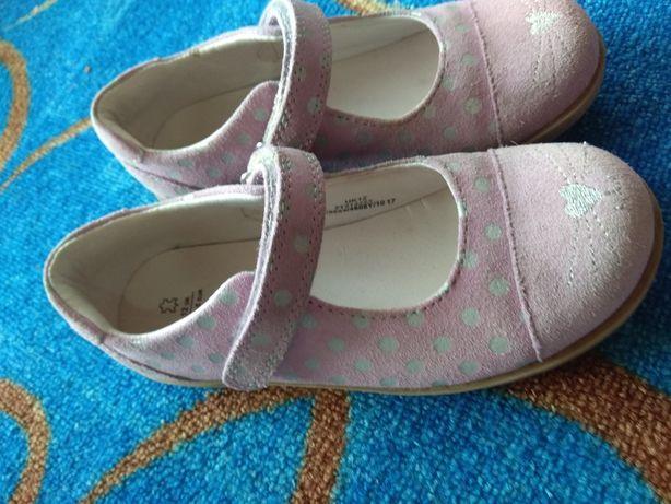Туфли, Туфельки для девочки, 30 размер, натуральная кожа Марк Спенсер