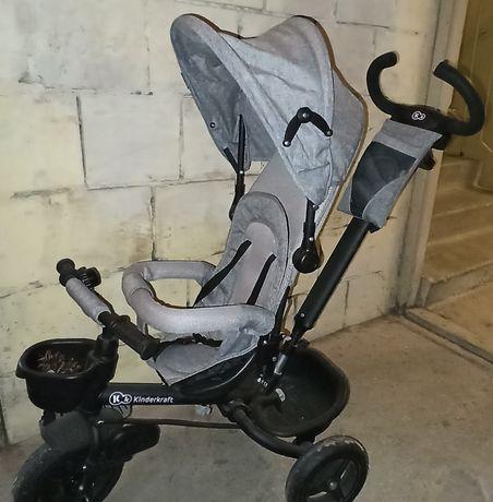 Rowerek trójkołowy dziecięcy 6w1 Aveo Kinderkraft stan Bardzo Dobry