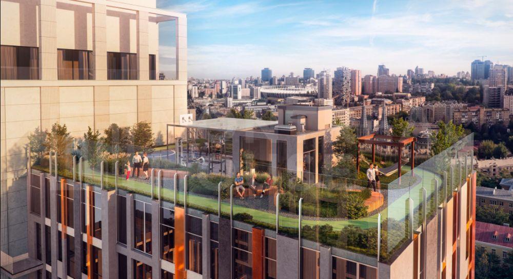 Продаж 1-кімнатної квартири в центрі столиці (ЖК Montreal House) - 1