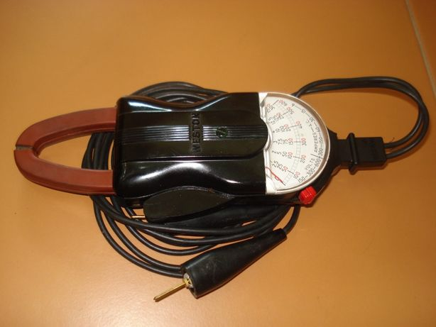 Pinça Amperimétrica analógica Weston