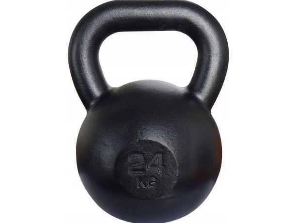 Kettlebell żeliwny RAW 24 kg