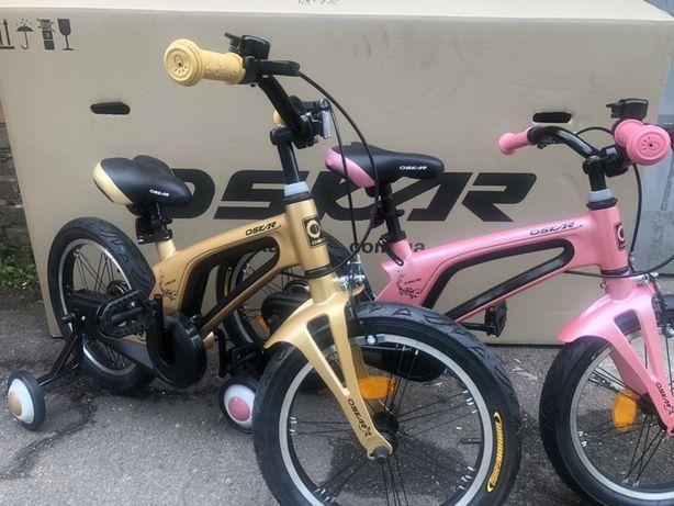 """Детский велосипед Oskar 16"""" (3-5 лет) новый, гарантия"""