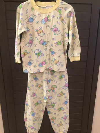 Пижама хлопковая 32 размер (104-110)