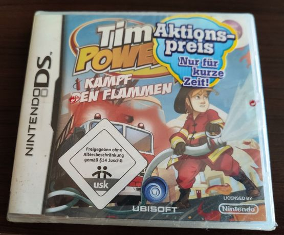 Nintendo DS Sam Power Firefighter / Tim Power Kampf Den Flammen