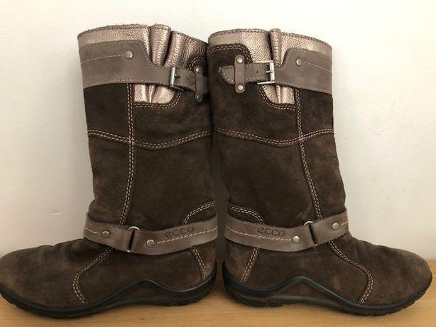 Kozaki buty Ecco - rozm 29, skóra naturalna