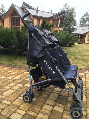 6000 грн за Maclaren Twin Triumph Denim коляску трость для двойни!