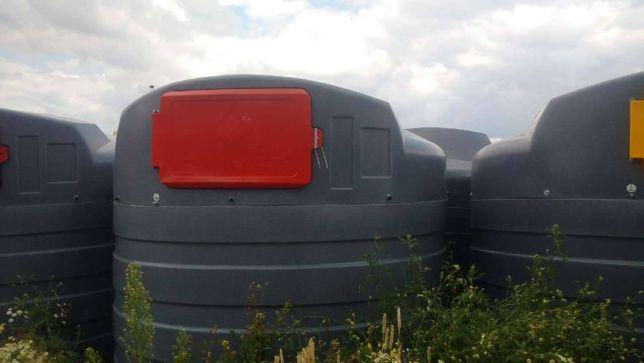 GIŻYCKO PROMOCJA Dwupłaszczowy zbiornik na paliwo 2500l Sibuso
