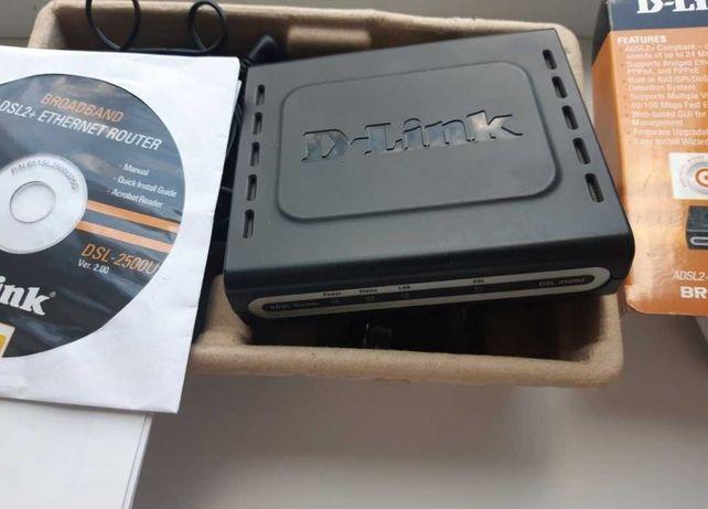 Модем маршрутизатор d-link dsl 2500U adsl2+internet router