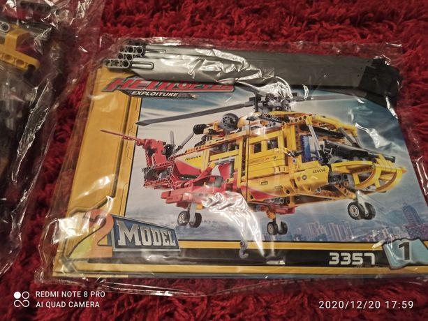 Helikopter Ratunkowy kompatybilny z LEGO Technic 9396