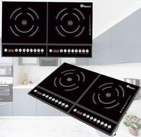 Индукционная плита Domotec MS-5862 электроплита плитка індукційна
