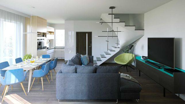 Pleszew Centrum + poddasze adaptacyjne mieszkanie z ogrodem