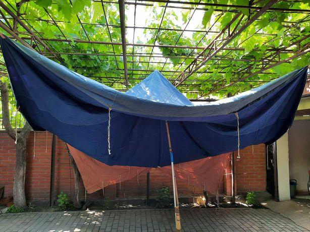 Тент от польской палатки