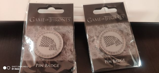 Pins Guerra dos Tronos War of Thrones Stark