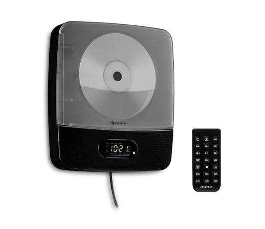 Vertiplay Odtwarzacz CD Bluetooth oświetlenie nocne lampka radio UKF A