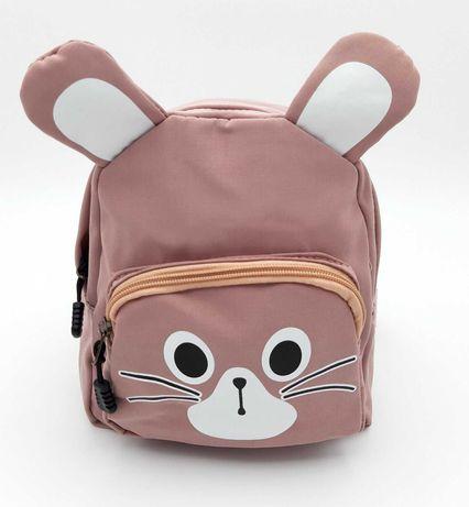 Детский тканевой рюкзак с ушками