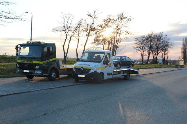 Pomoc Drogowa 24H Tarnowskie Góry Laweta Holowanie Złomowanie aut