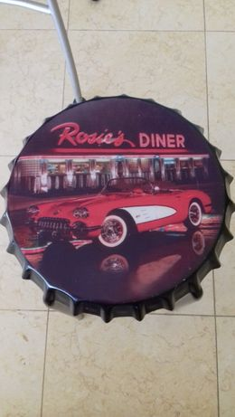 Rose's dinner: mesa de apoio ou banco NOVO