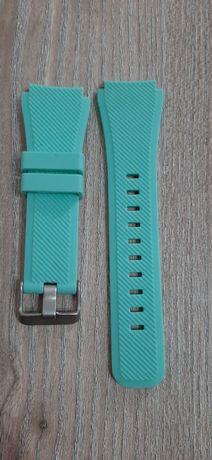 Bracelete de encaixe inteligente 22mm-compativel várias marcas-azul